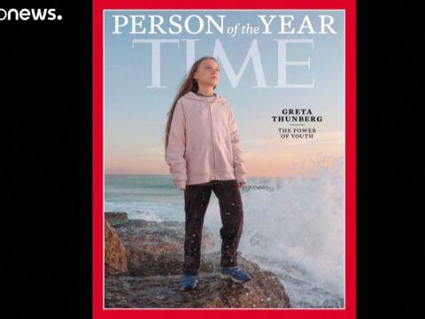 Greta Thunberg lett az év embere   ClimeNews - Hírportál