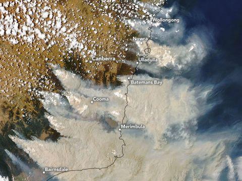 Új-Zéland gleccsereit is elszínezte az Ausztráliából érkező füst | ClimeNews