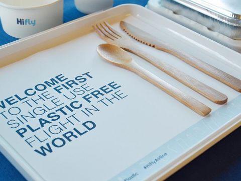 Hi Fly - Műanyagmentes repülőjárat | ClimeNews - Hírportál