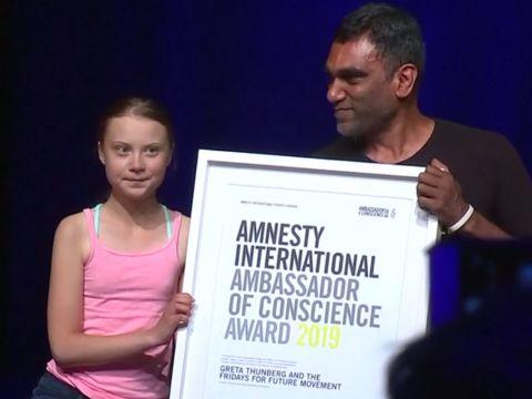 Kitüntetést kapott Greta Thunberg | ClimeNews - Hírportál