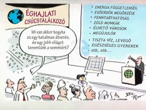 Joel Pett karikatúrája a 2009-es koppenhágai klímacsúcs előtt. USA Today | ClimeNews