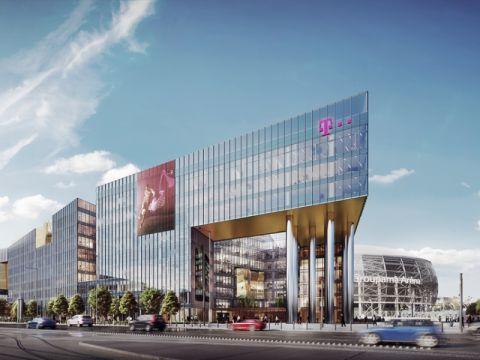 Ilyen lesz a Telekom | új székháza kép: skyscrapercity.com | ClimeNews