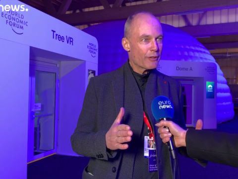 Davosban Pertrand Piccard a megújoló energiákról   ClimeNews