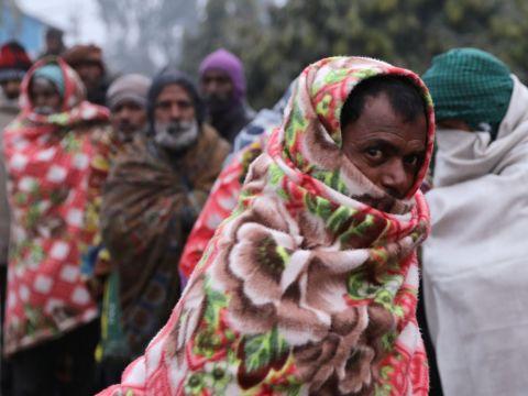 Delhiben rendkívüli hideg van | ClimeNews - Hírportál