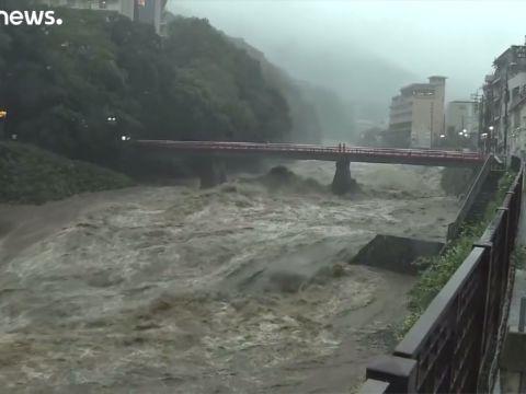 A Hagibis tájfun elérte Japánt | ClimeNews