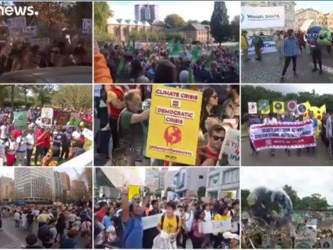 Klímasztrájkok világszerte | ClimeNews - Hírportál