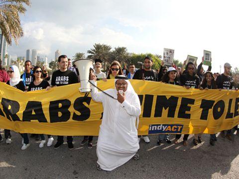 Forrás: AFP/Karim Jaafar | Elkerülték a klímacsődöt | ClimeNews - Hírportál