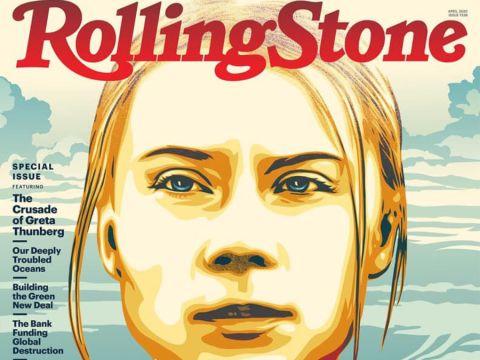 Greta Thunberg a RollingStone Magazin borítóján | ClimeNews - Hírportál