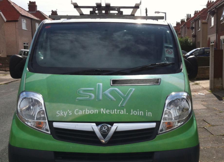 A sky volt a világ első karbonsemleges médiavállalata | ClimeNews - Hírportál
