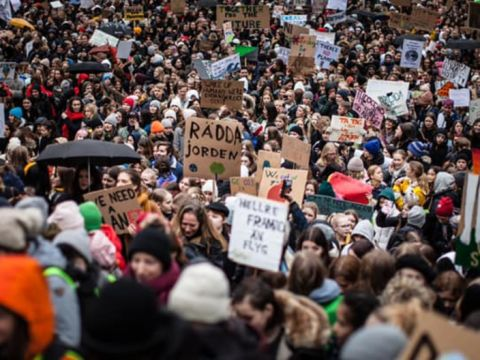 Iskolasztrájk - Csupán átadjuk a tudósok szavait | ClimeNews - Hírportál
