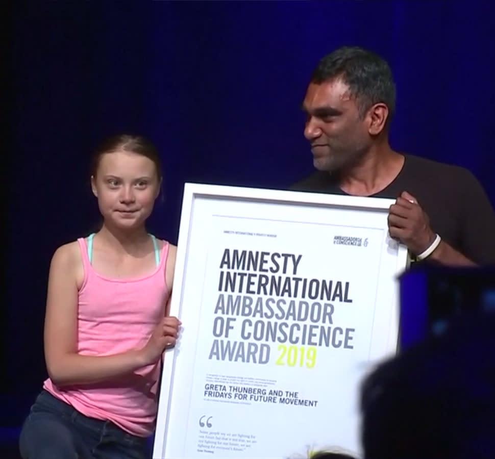 Kitüntetést kapott Greta Thunberg (frissítve)