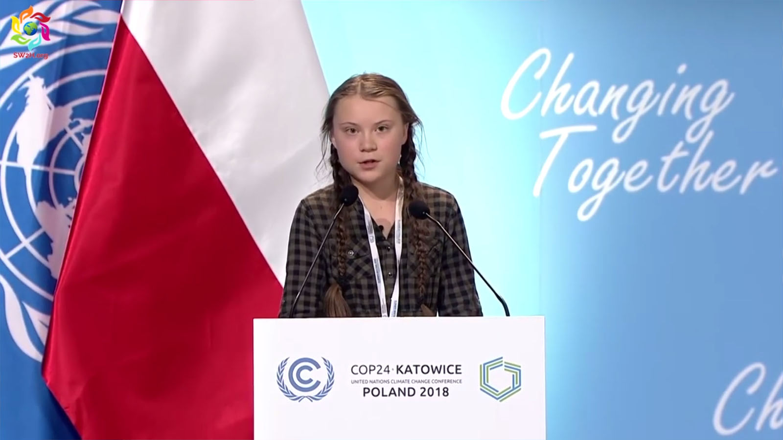 """""""Önök ellopják tőlünk a jövőnket"""": Greta Thunberg"""