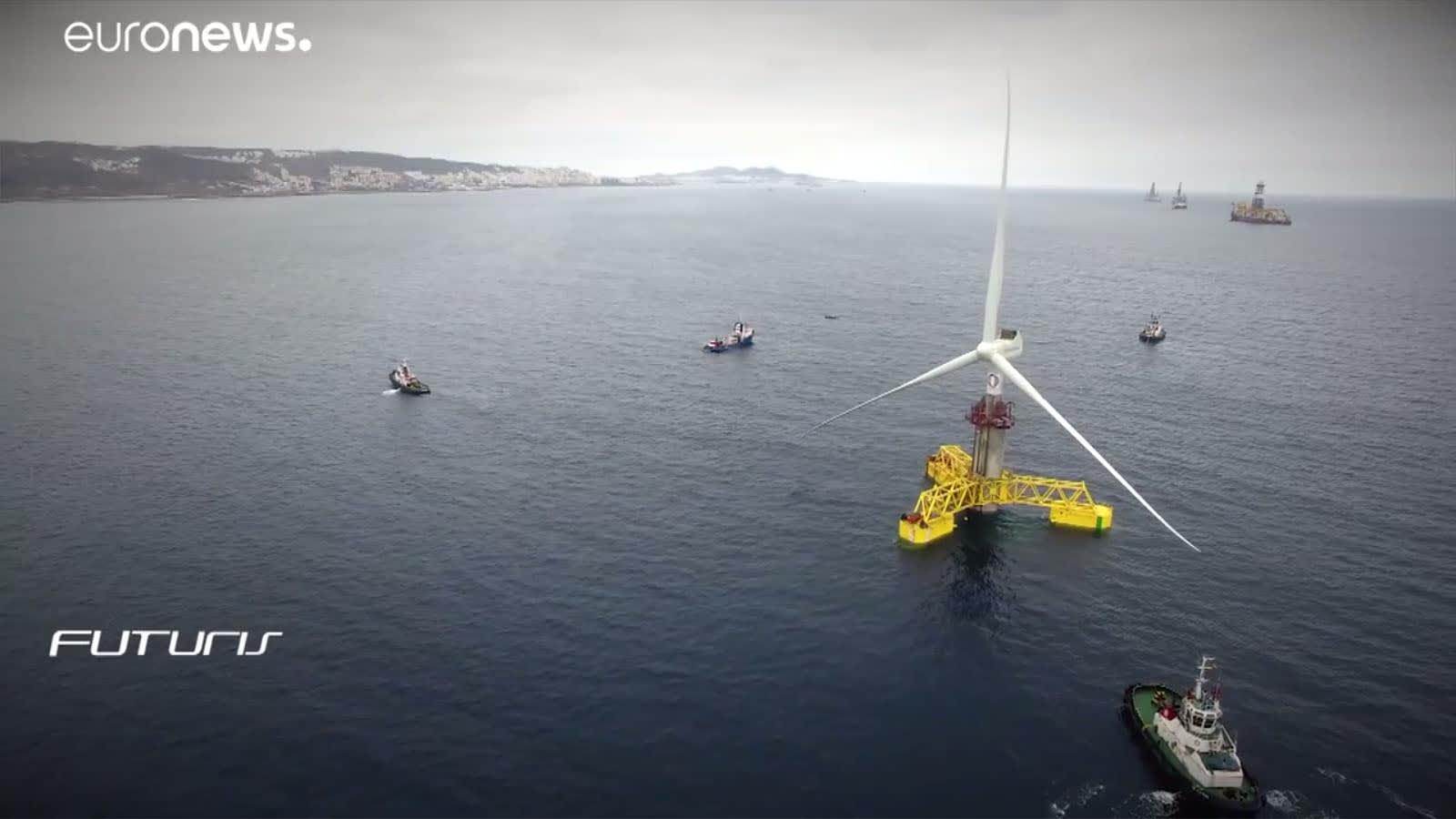 Egy tengeri szélerőmű prototípusa a Kanári-szigeteken | ClimeNews