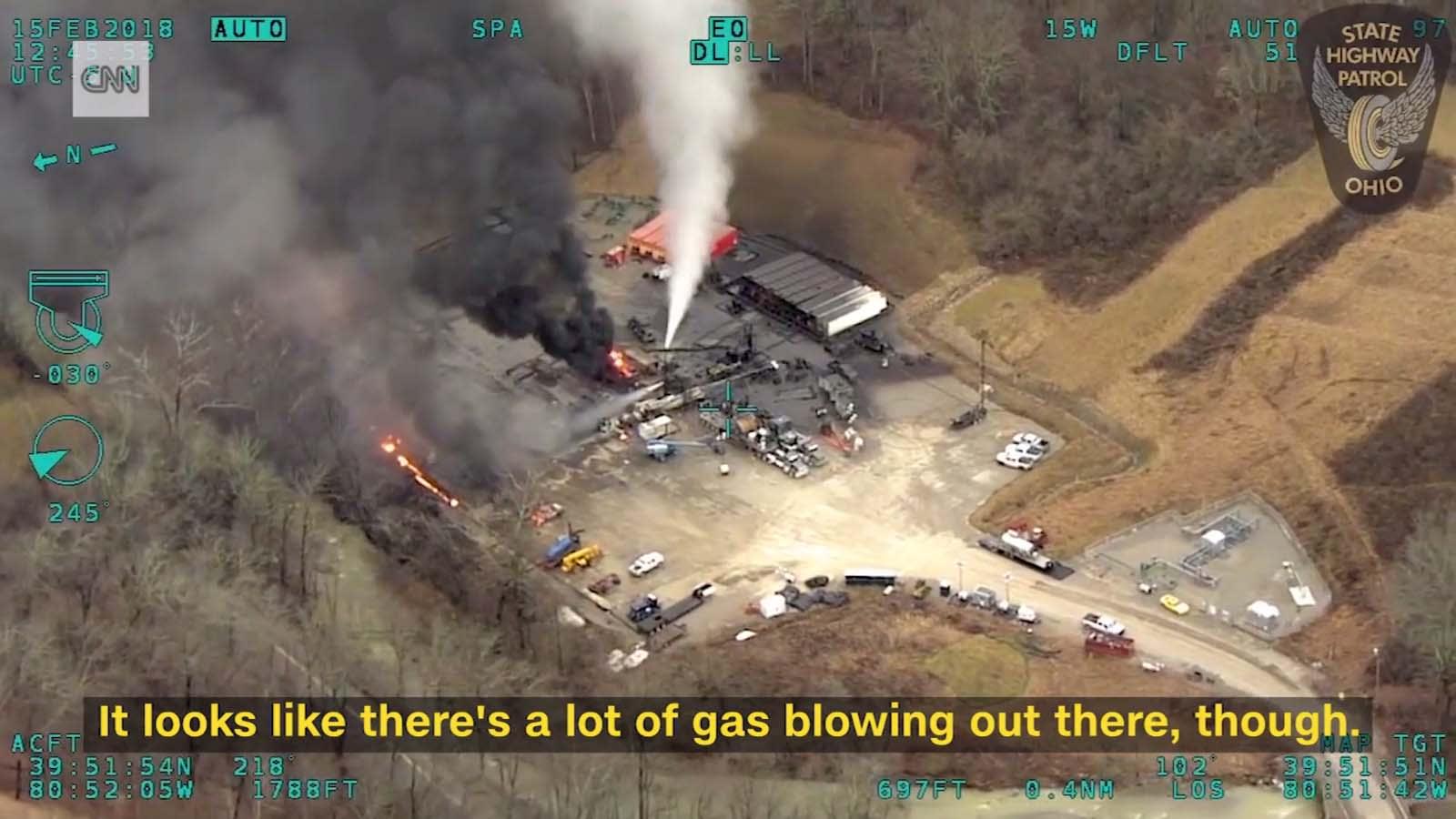 Óriási gázkitörés volt Amerikában