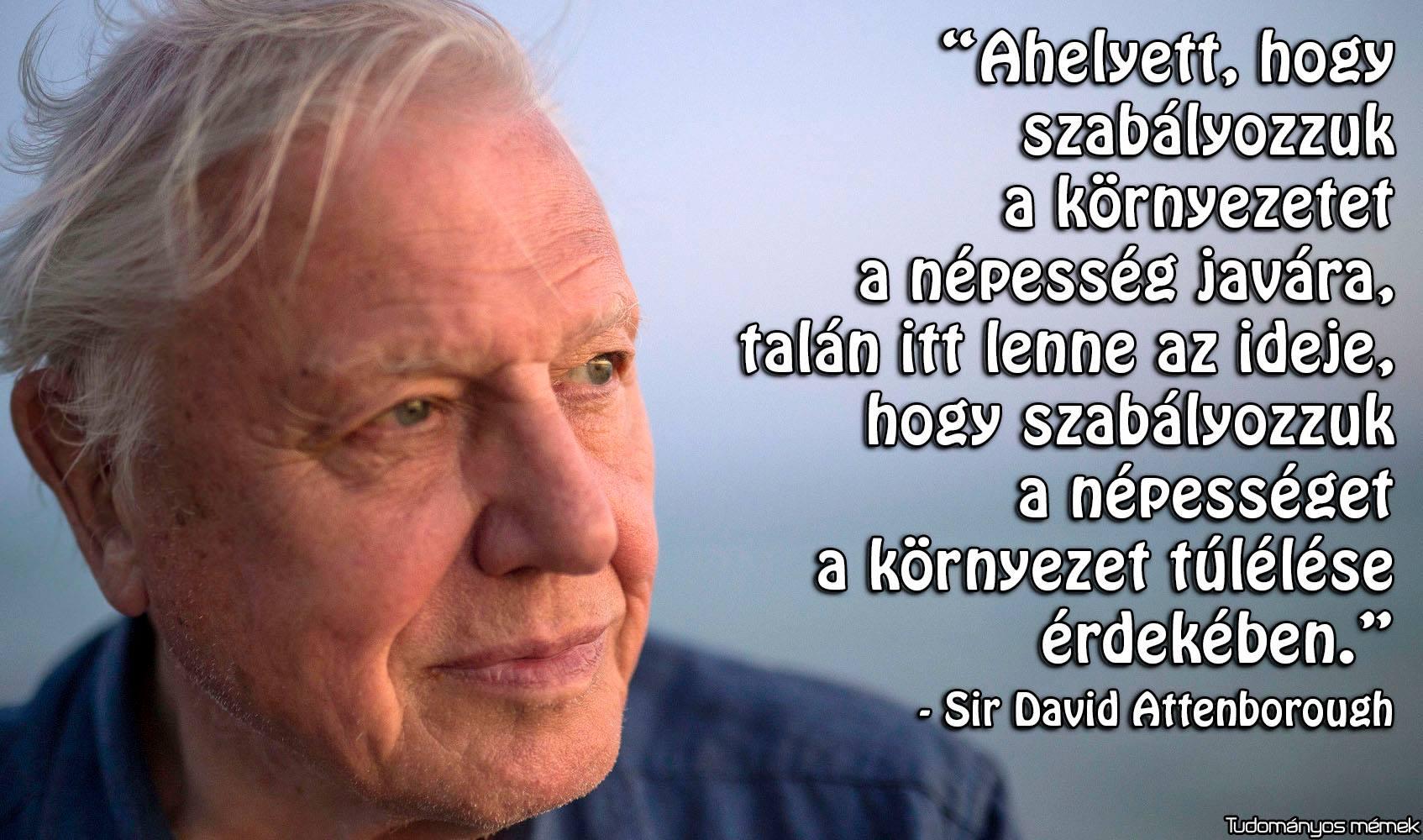 Ma lett 93 éves Sir David Attenborough | ClimeNews - Hírportál