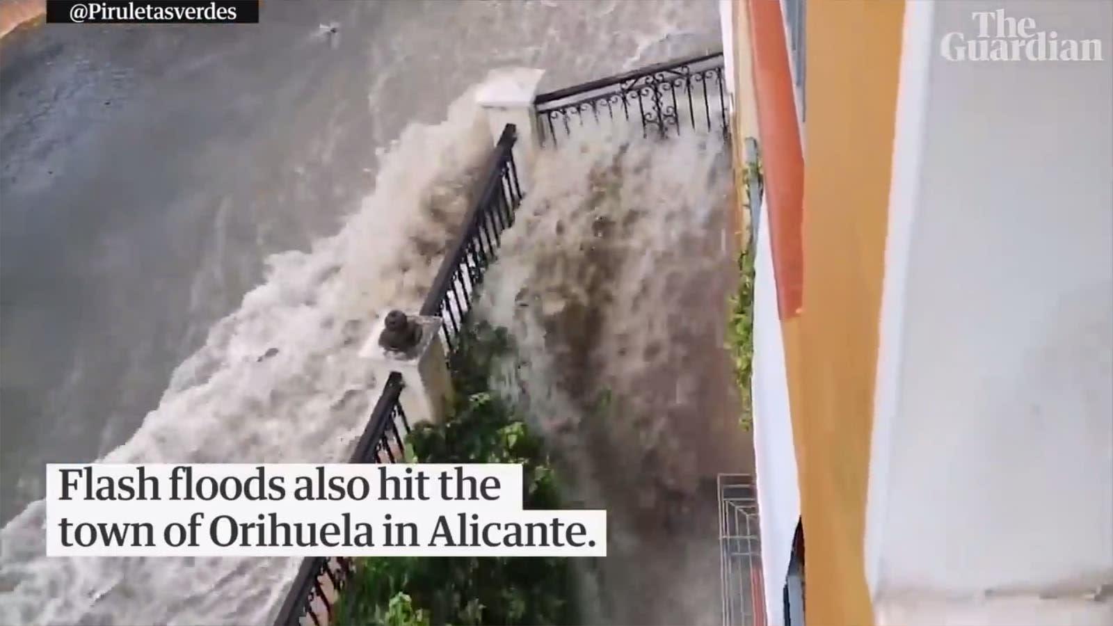 Hatalmas károk a Spanyol esőzésekben