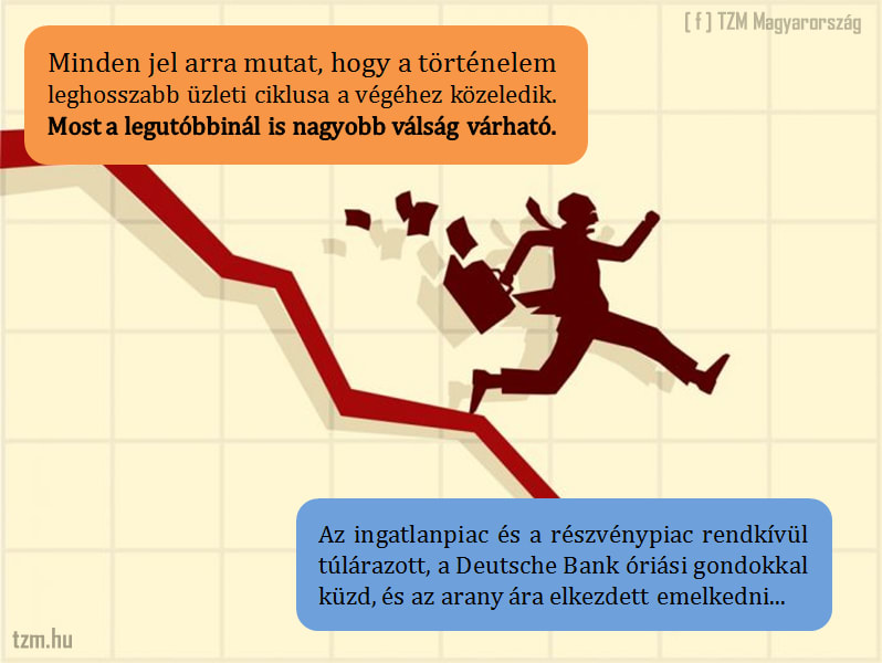 Te készen állsz egy újabb gazdasági válságra?