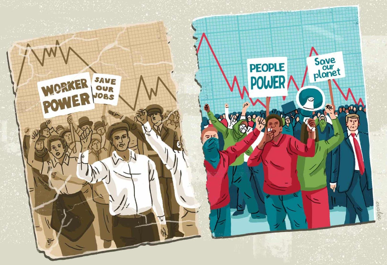 Közelebb vagyunk a világháborúnál is nagyobb katasztrófához   limeNews    Illustráció: Eva Bee