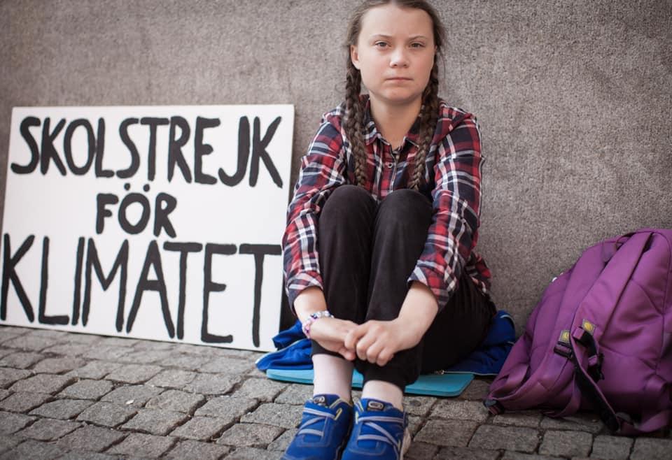 Greta Thunberg - Az óriási méretű gyűlöletre   ClimeNews - Hírportál