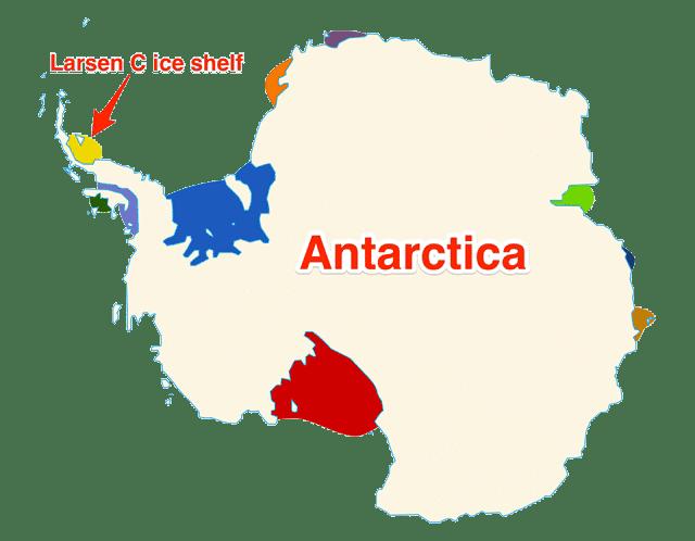 Leszakadt egy 1 billió (!) tonnás jégdarab az Antarktiszról   ClimeNews - Hírportál   © Diti Torterat / Wikipedia