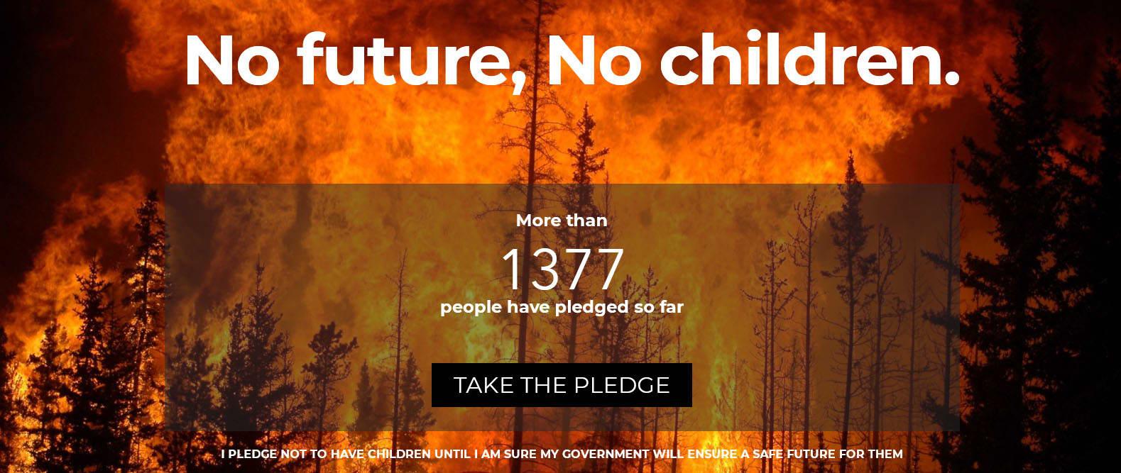 Ha nincs jövő, nincs gyerek   ClimeNews - Hírportál