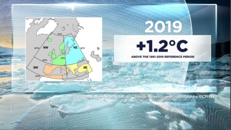 Mindenhol melegedést hozott 2019, egyedül Kanadában volt hűvösebb   ClimeNews