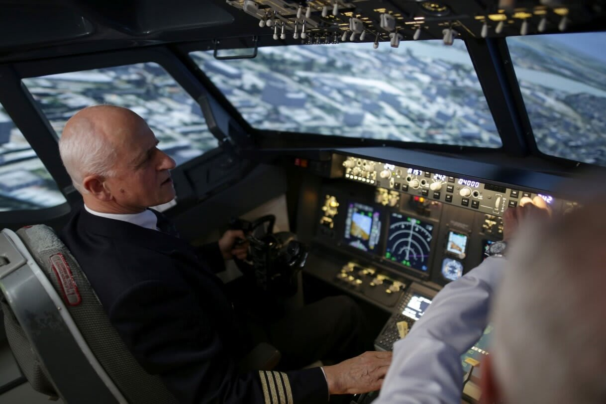 A repülőgépben biztonságban vagyunk a villámcsapástól Fotó: Szabó Gábor - Origo