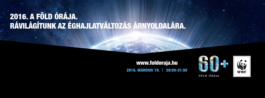 A WWF Föld Órája 2016-ban