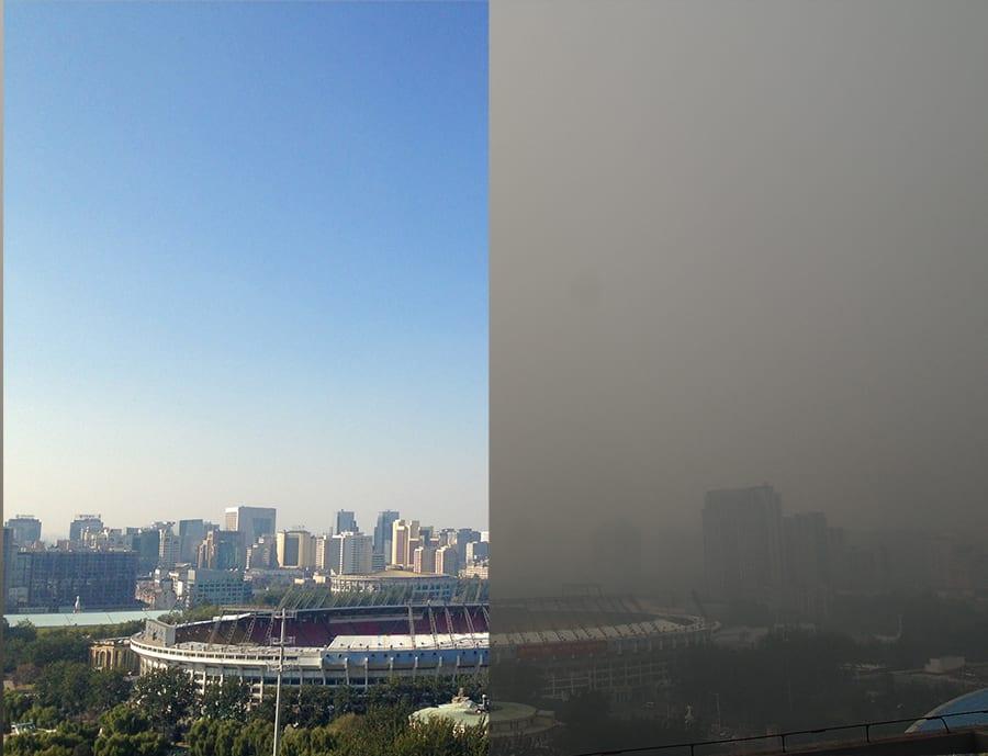 Beijing kibocsátáscsökkentő átváltozása!