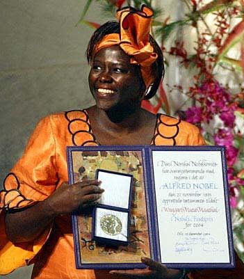 Wangari Maathai – A fenntartható fejlődés a béke magva