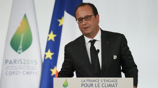 Francois Hollande - COP21 Napról napra - ClimeNews