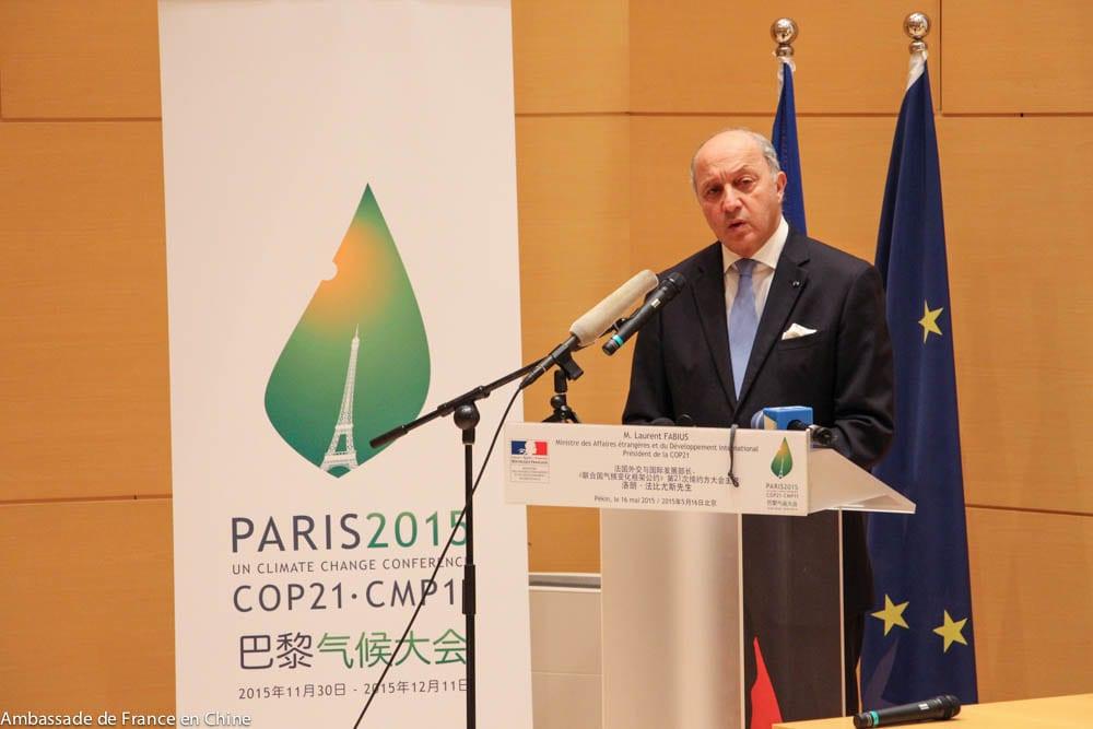 Laurent Fabius - COP21 Napról napra - ClimeNews