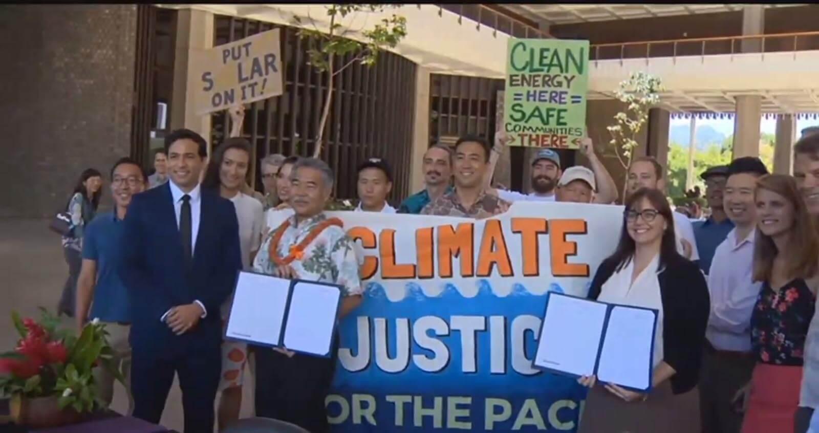 Hawaii törvénybe iktatta a párizsi klímaegyezmény egyes előírásainak megvalósítását