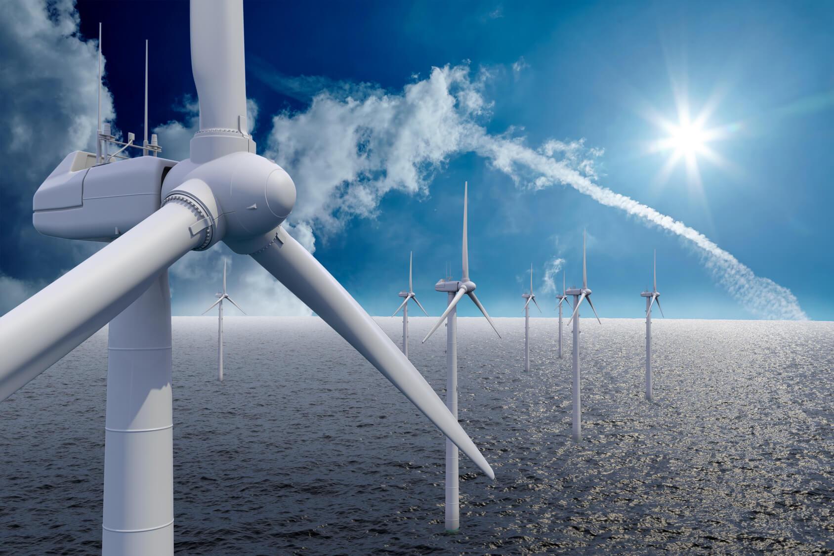 Óriás szélfarm épül Belgiumban