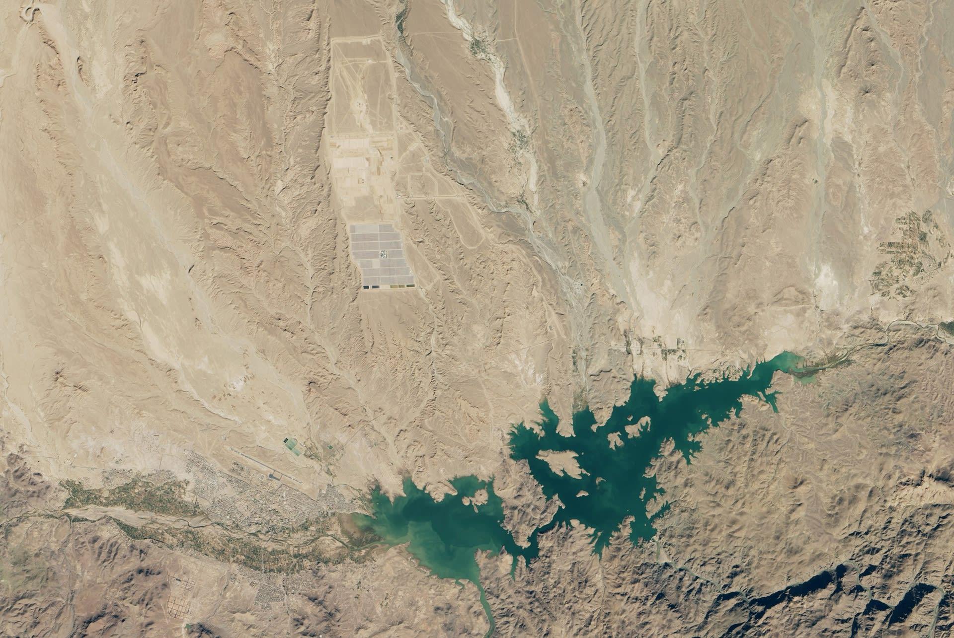 Marokko-solar-160MW_Nasa - Bekapcsolták a világ legnagyobb naperőművét - ClimeNews