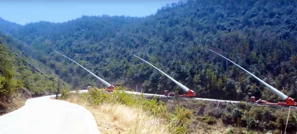 Turbinalapátokat a hegyek tetejére - A Kínaiak megoldják... - ClimeNews