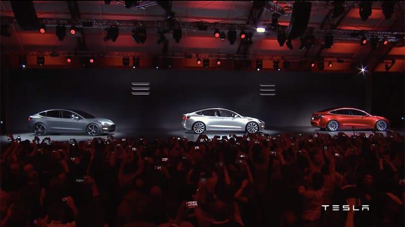 Tesla Model 3 bemutató - ClimeNews