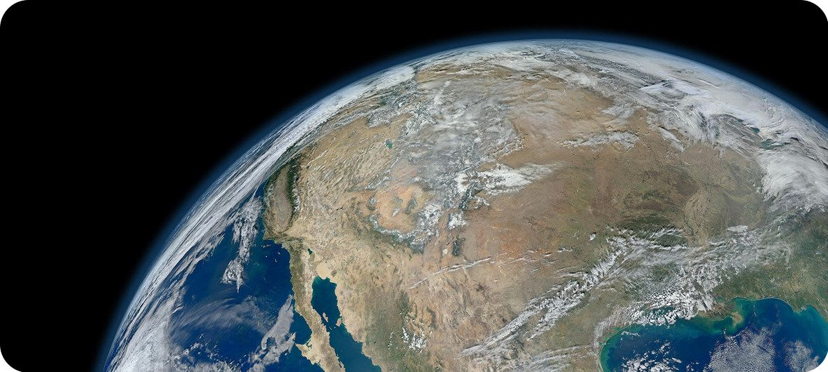 NASA The Earth, an image created from photographs taken by the Suomi NPP satellite.   ClimeNews - Hírportál