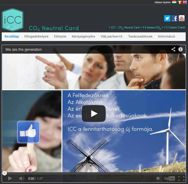 iCC - CO2 Neutral Card - ClimeNews