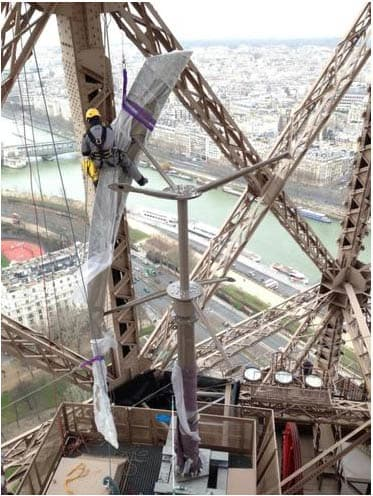 Ellátja magát árammal az Eiffel-torony   ClimeNews - Hírportál