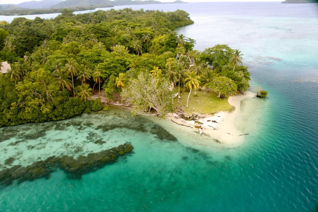 Sorra tűnnek el a csendes-óceáni Melanéziához tartozó Salamon-szigetek a tengerszint-emelkedés miatt.