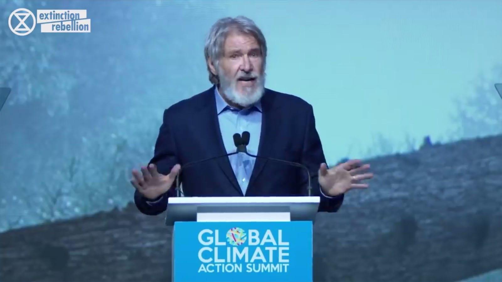 """Ha nem tudjuk megóvni a természetet, nem tudjuk megóvni magunkat"" Harrison Ford"