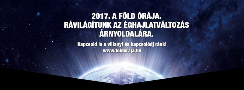 Föld órája +   2017   ClimeNews - Hírportál