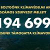 """Majdnem kétszázezer ember és több száz intézmény támogatta """"klímavoksával"""" az államfő Élő Bolygónk kampányát - ClimeNews"""