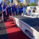 Magyar napelemes autó vágott át a sivatagon