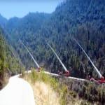 Turbinalapátokat a hegyek tetejére - A Kínaiak megoldják...