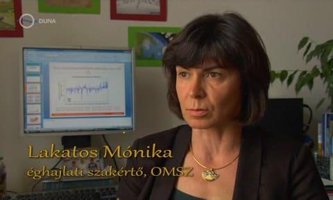 Lakatos Mónika OMSZ - Magyarország a jobban melegedő régiókhoz tartozik - ClimeNews