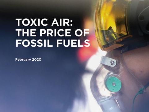 A saját egészségünkkel fizetünk   ClimeNews - Hírportál   Fotó: Greenpeace