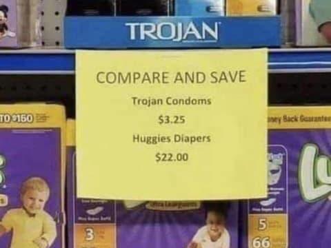 Az óvszer 7-szer olcsóbb, mint a pelenka!   ClimeNews - Hírportál