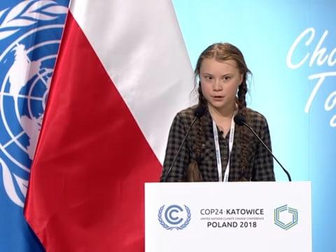Greta Thunberg beszéde az ENSZ éghajlat-változási konferencián   ClimeNews - Hírportál